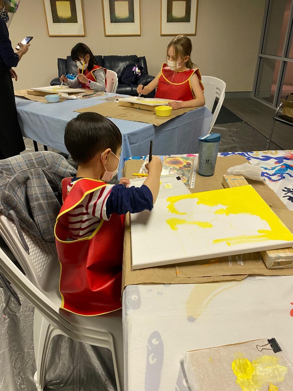 Les Petits Painters, art classes Sydney, art lessons for kids