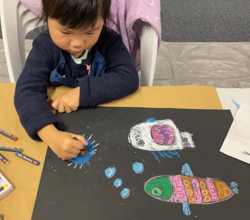 Les Petits Painters school holidays art workshops for children
